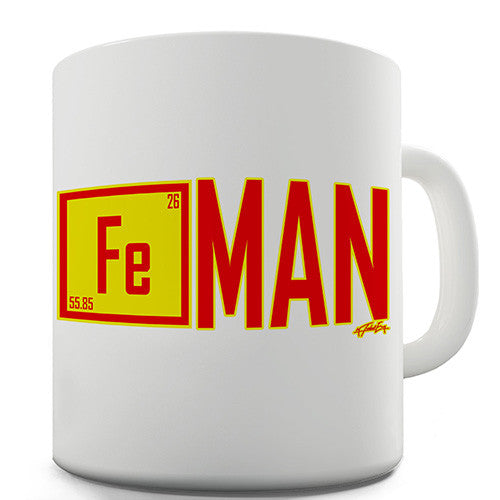 Fe Element Iron Man Novelty Mug