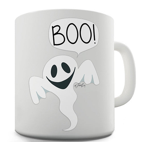 Friendly Ghost Boo Novelty Mug