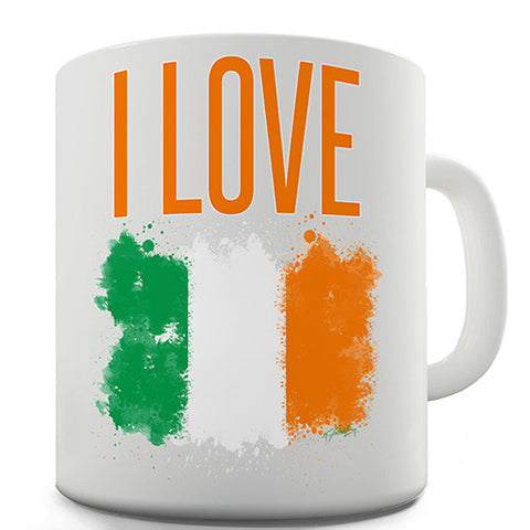 I Love Ireland Novelty Mug