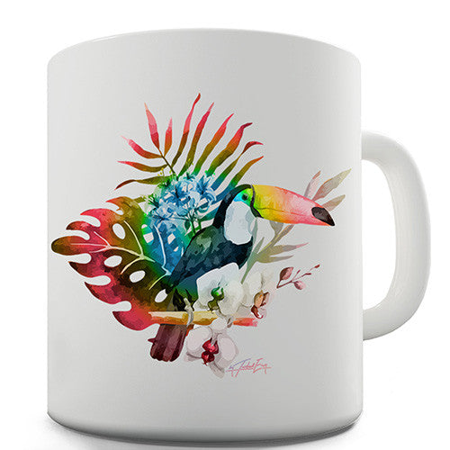 Toucan In The Wild Novelty Mug