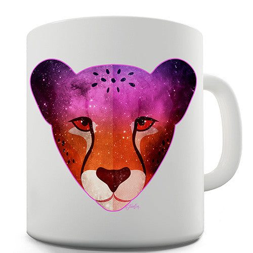 Galaxy Cheetah Novelty Mug