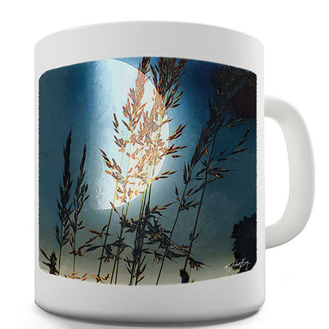 Reeds In The Moonlight Novelty Mug