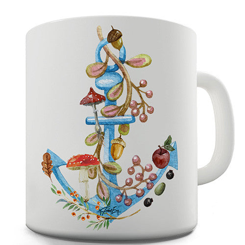 Anchor Lost at Sea Novelty Mug