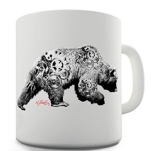 Clockwork Bear Novelty Mug