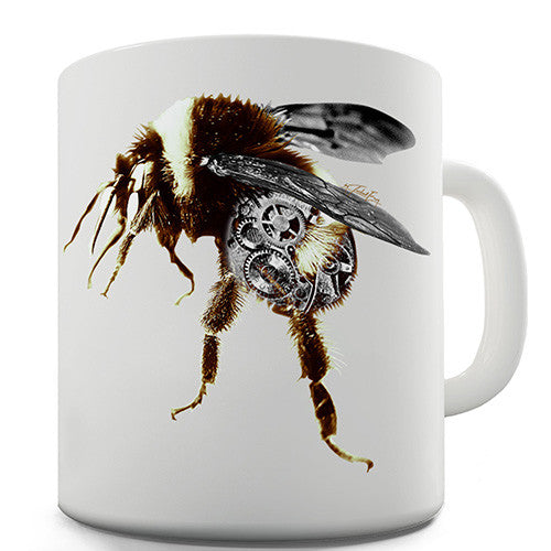 Clockwork Metal Bumblebee Novelty Mug