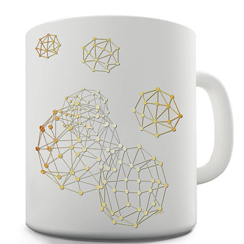 Geometric Polygons Novelty Mug