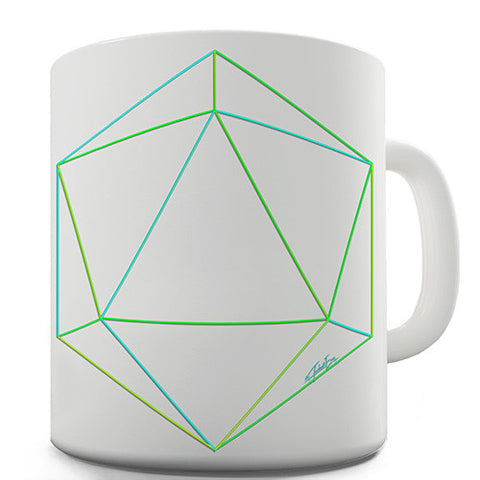 Geometric 3D Polygon Novelty Mug