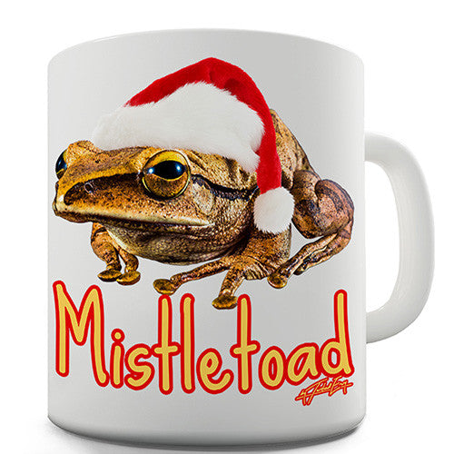Mistletoad Novelty Mug