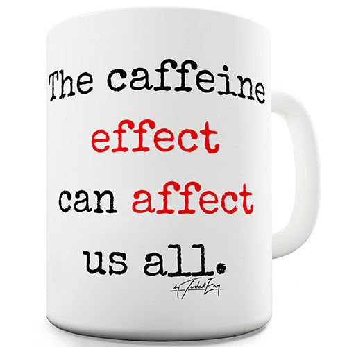Effect Affect Grammar Novelty Mug