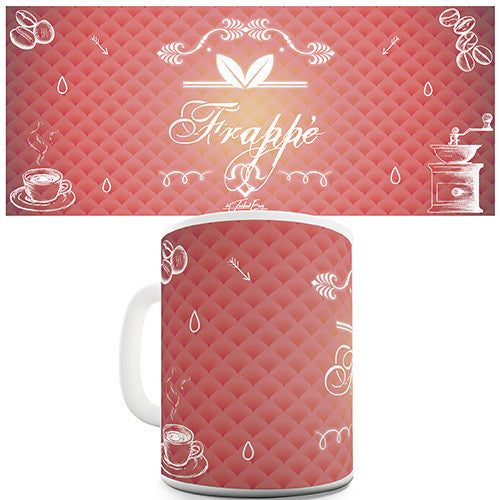 Decorative Frappe Novelty Mug