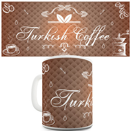 Decorative Turkish Coffee Novelty Mug