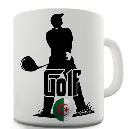 Algeria Golf Novelty Mug