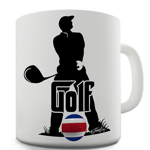 Costa Rica Golf Novelty Mug