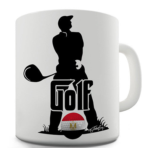 Egypt Golf Novelty Mug