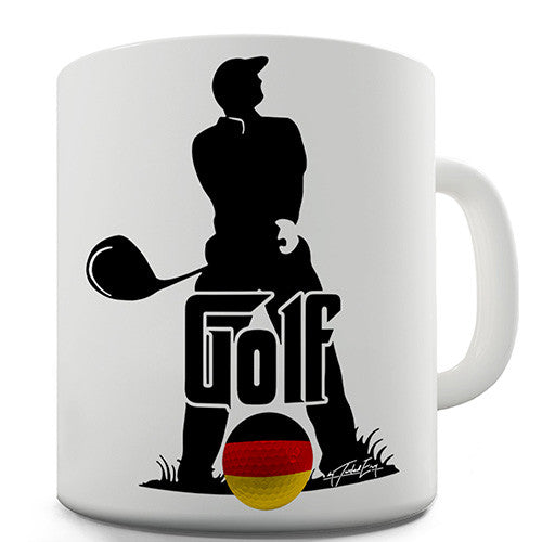 Germany Golf Novelty Mug