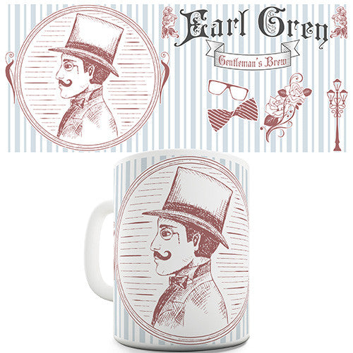 Earl Grey Gentleman's Novelty Mug
