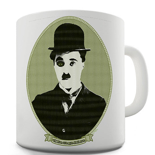 Charlie Chaplin Money Portrait Novelty Mug