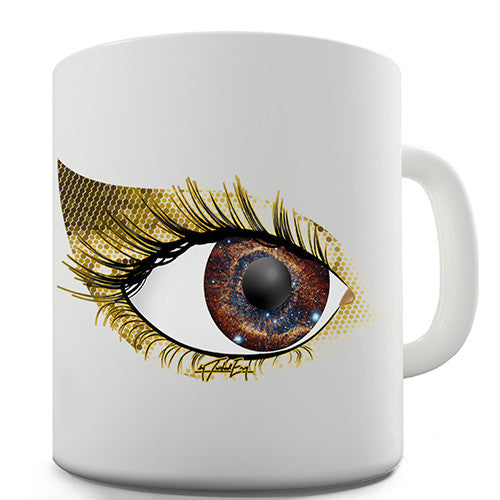 Gold Eyeshadow Novelty Mug
