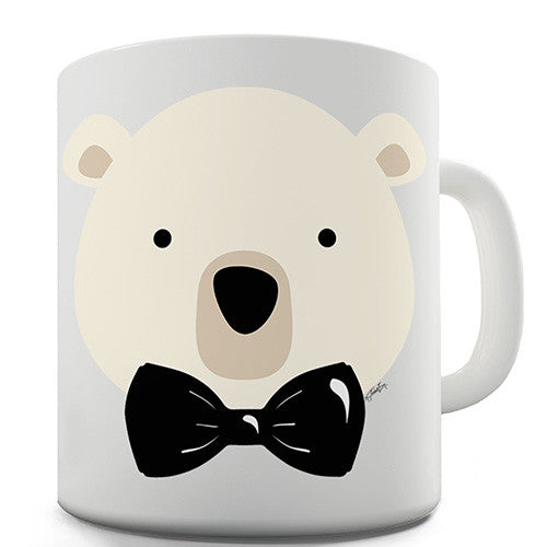 Bow Tie Bear Novelty Mug