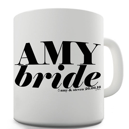 Bride Personalised Mug