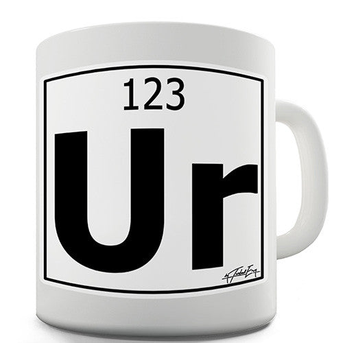 Periodic Table Of Elements Ur Your Novelty Mug