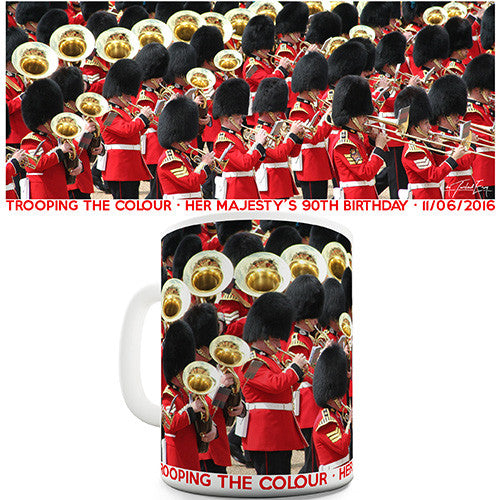 Her Majesty Birthday Trooping The Colour 2016 Novelty Mug