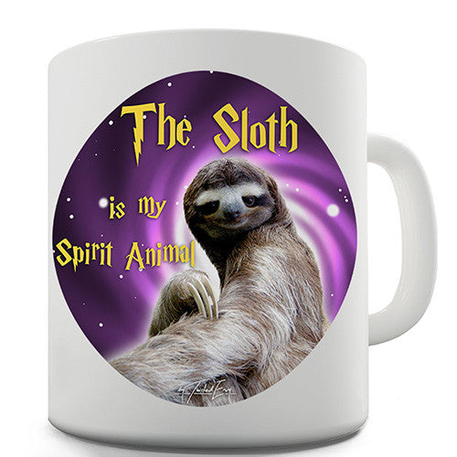 Sloth Is My Spirit Animal Novelty Mug