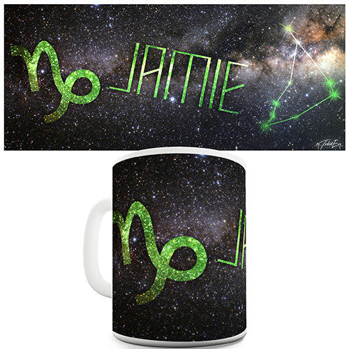 Galaxy Capricorn Personalised Mug