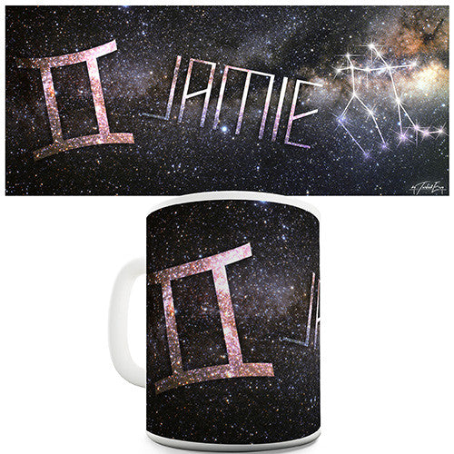 Galaxy Gemini Personalised Mug