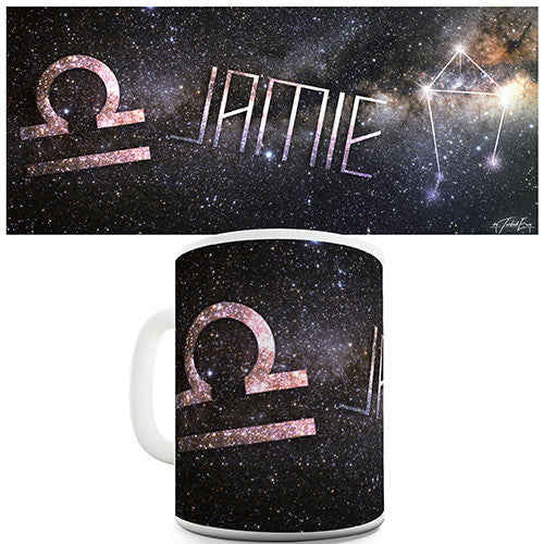 Galaxy Libra Personalised Mug