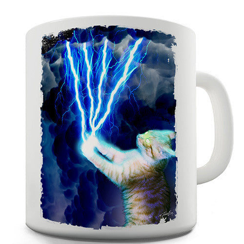 Electro Cat Novelty Mug