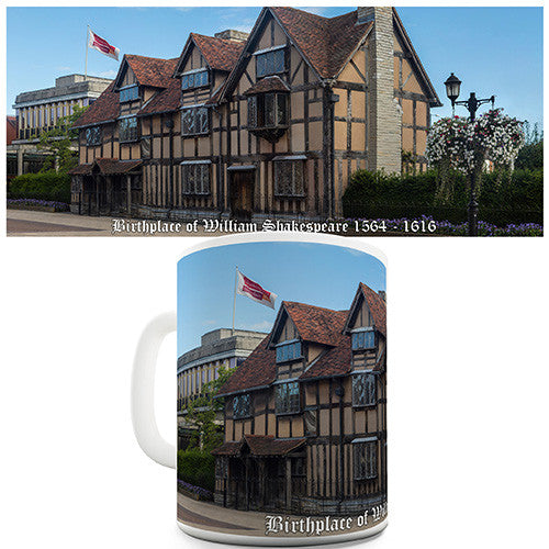 Birthplace of William Shakespeare 1564 - 1616 Novelty Mug