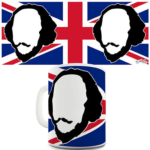 Best of British William Shakespeare Novelty Mug