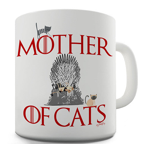 Mother Of Cats Novelty Mug