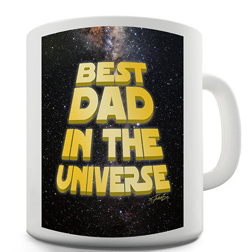 Best Dad In The Universe Novelty Mug