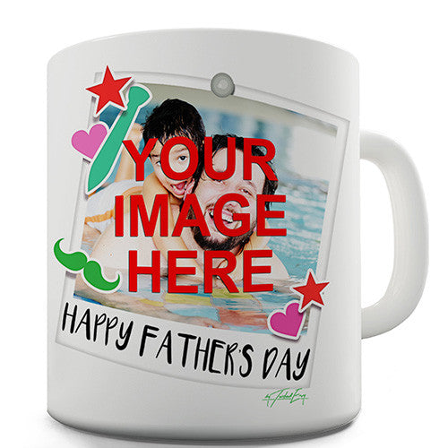 Father's Day Photograph Personalised Mug