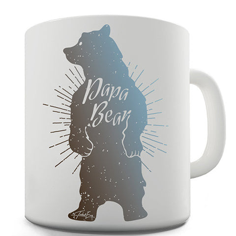Papa Bear Novelty Mug