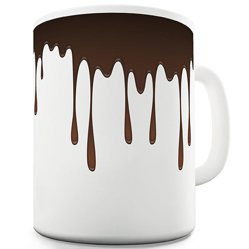 Dripping Chocolate Novelty Mug