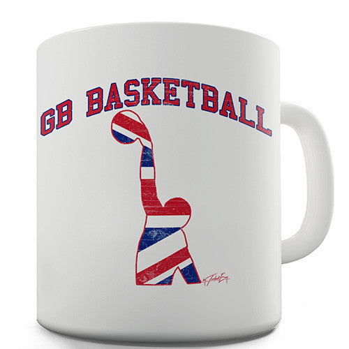 GB Basketball Novelty Mug