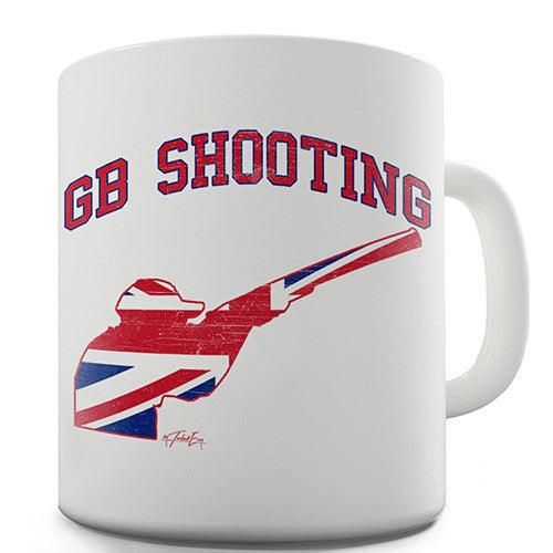 GB Shooting Novelty Mug