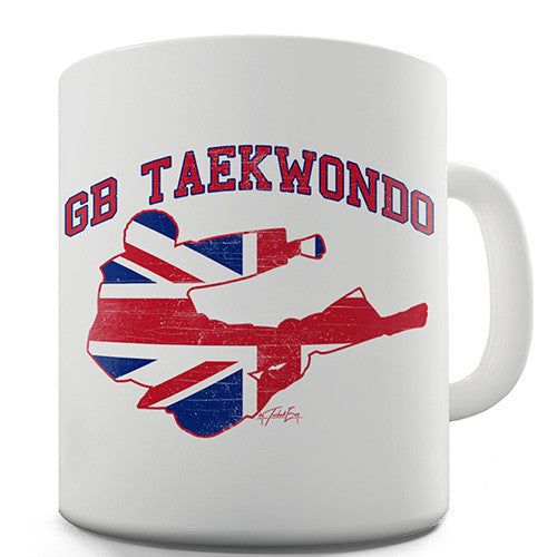 GB Taekwondo Novelty Mug