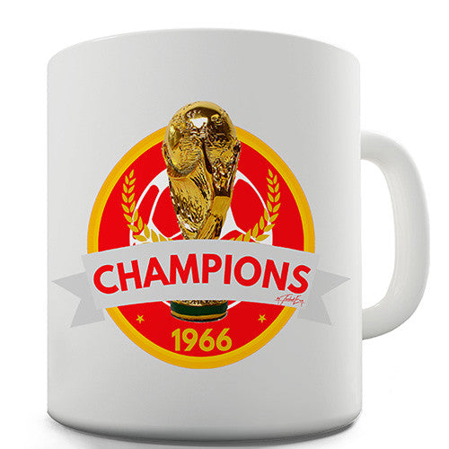 England World Cup Champs Novelty Mug