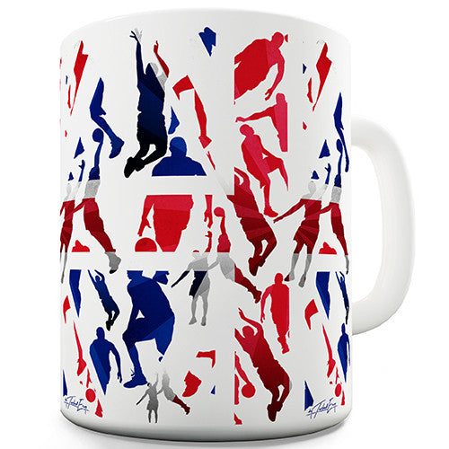 GB 2016 Basketball Silhouette Novelty Mug