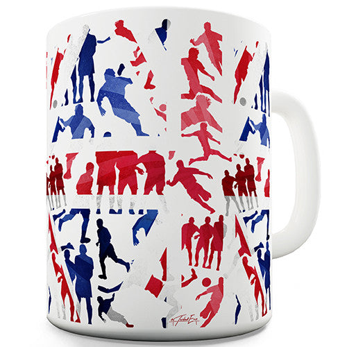 GB 2016 Football Silhouette Novelty Mug