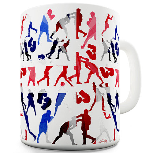 GB 2016 Boxing Silhouette Novelty Mug