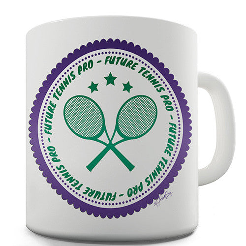 Future Tennis Pro Novelty Mug