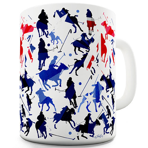 Australia Polo Collage Novelty Mug