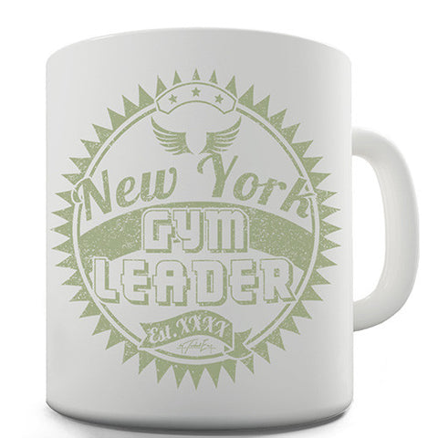 Gym Leader New York Novelty Mug