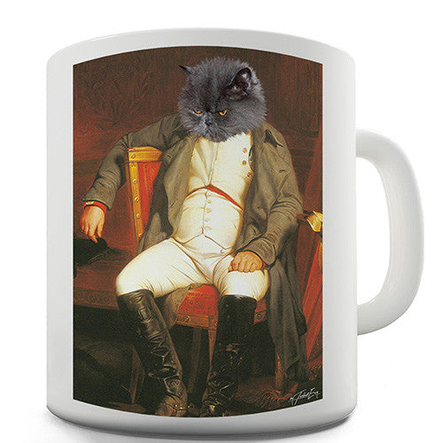 Napoleon Grumpy Cat Novelty Mug