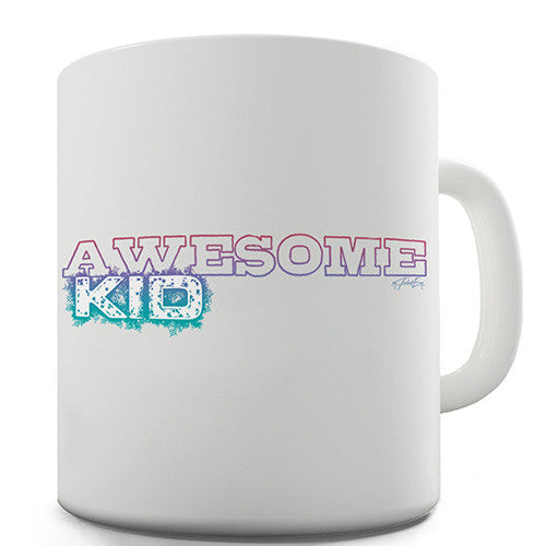 Awesome Kid Novelty Mug
